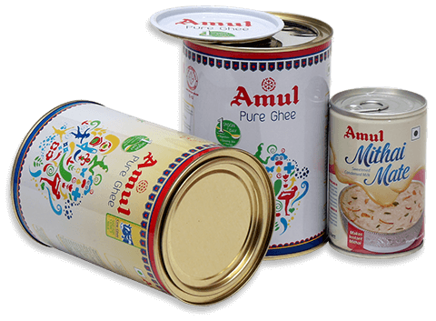 Metal Tin Plate Containers, Manufacturers, Exporters, India